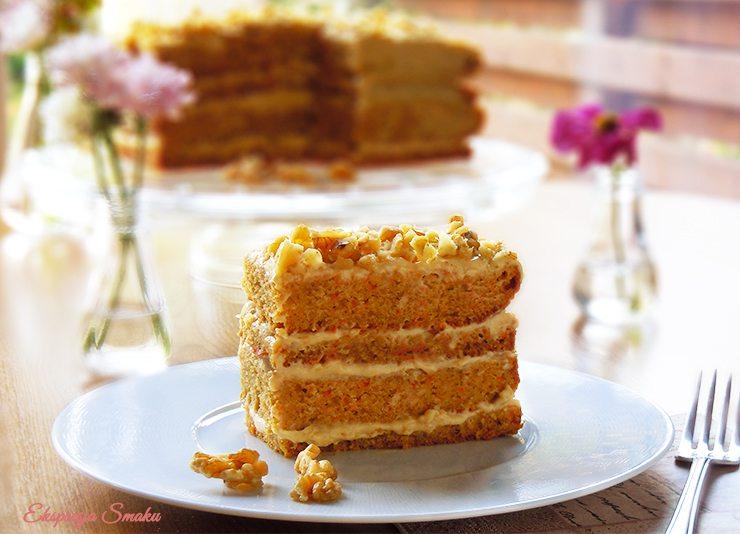 Bezglutenowe ciasto marchewkowo - dyniowe