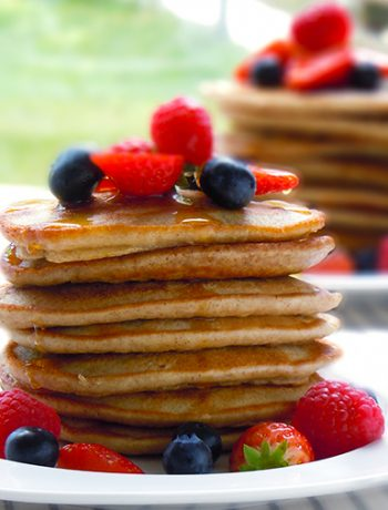 Puszyste bezglutenowe pancakes