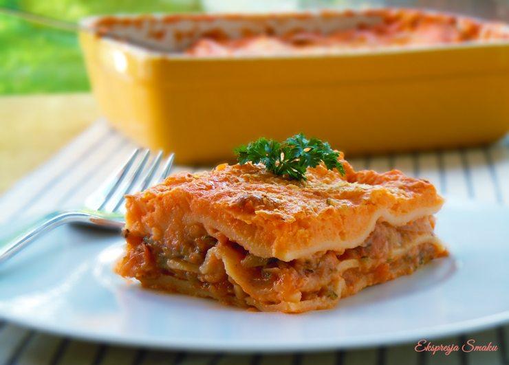 Weganska lasagne (bezglutenowa)