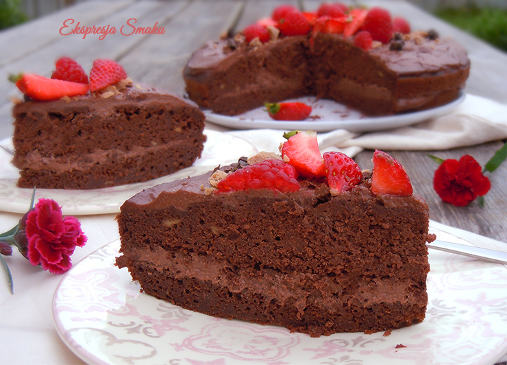 Ciasto czekoladowe bez glutenu