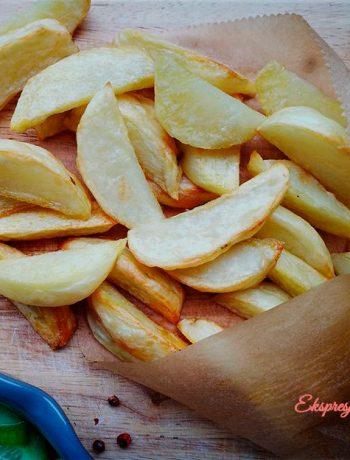 Pieczone ziemniaki w piekarniku wedges