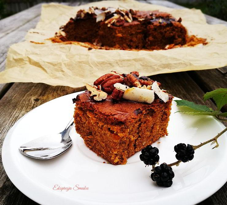 Ciasto ze słodkich ziemniaków bez glutenu