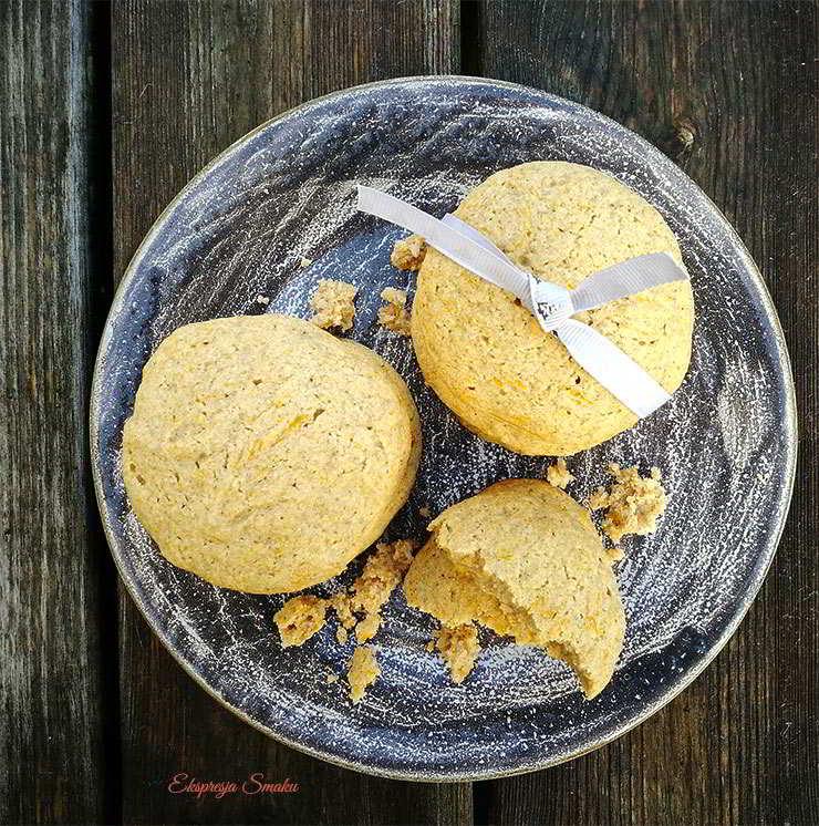 Dyniowe ciasteczka bez glutenu