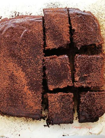Brownie bezglutenowe i wegańskie