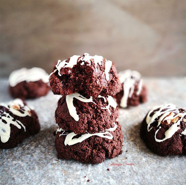 Bezglutenowe i wegańskie ciastka czekoladowe