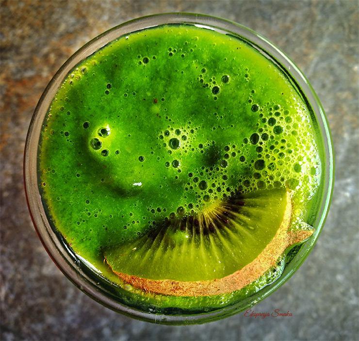 Super zielony koktajl