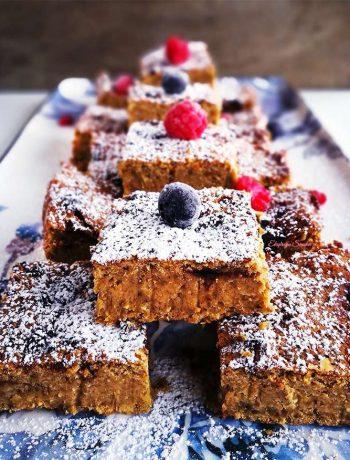 Ciasto z ciecierzycy bez mąki i bez cukru