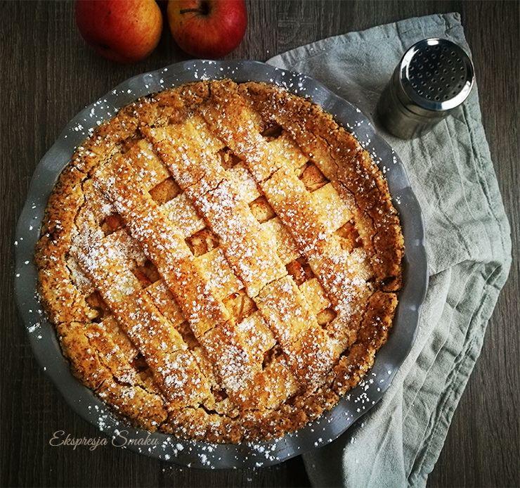 Tarta bezglutenowa z jabłkami