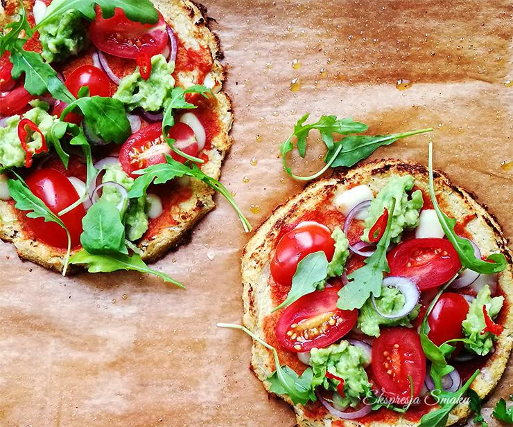 Mini pizze z kalafiora