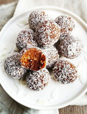 Morelowo-kokosowe kulki