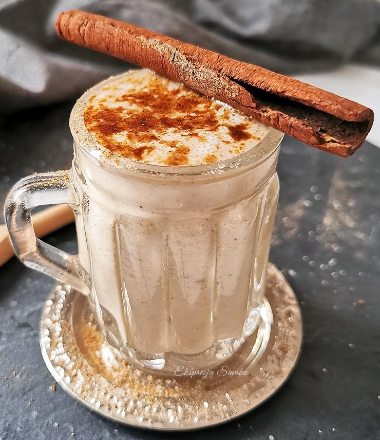 Kremowe smoothie z tahini